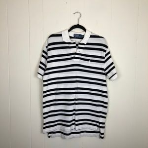 Polo by Ralph Lauren Striped Polo Shirt Sz M